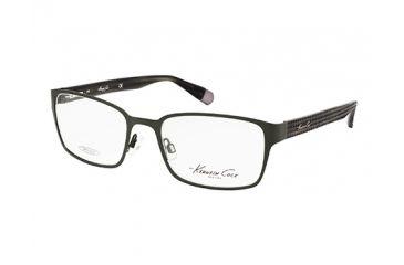 Kenneth Cole New York KC0200 Eyeglass Frames - Matte Gun Metal Frame Color