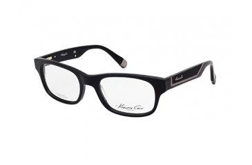 Kenneth Cole New York KC0201 Eyeglass Frames - Shiny Black Frame Color