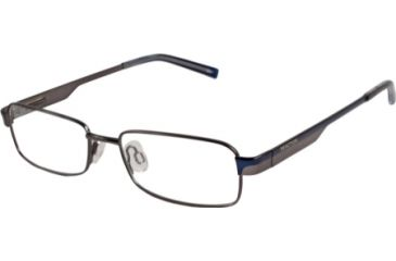 Kenneth Cole New York KC0701 Eyeglass Frames - Shiny Gun Metal Frame Color