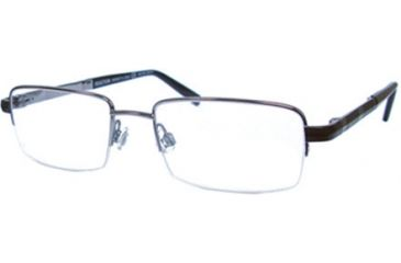 Kenneth Cole New York KC0718 Eyeglass Frames - Shiny Gun Metal Frame Color