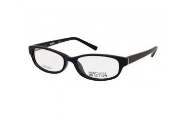 Kenneth Cole Reaction KC0725 Eyeglass Frames - Shiny Black Frame Color