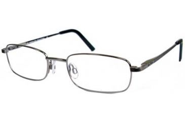 Kenneth Cole New York KC0728 Eyeglass Frames - Shiny Dark Nickeltin Frame Color