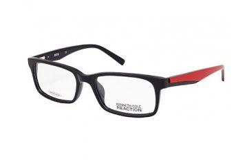 Kenneth Cole Reaction KC0729 Eyeglass Frames - Shiny Black Frame Color