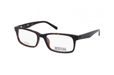 Kenneth Cole Reaction KC0729 Eyeglass Frames - Dark Havana Frame Color