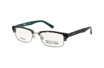 Kenneth Cole New York KC0741 Eyeglass Frames - Dark Green Frame Color