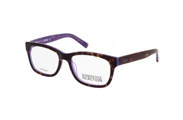 Kenneth Cole New York KC0744 Eyeglass Frames - Havana Frame Color