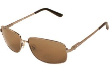 Kenneth Cole New York KC6091 Sunglasses - Matte Gun Metal Frame Color, Brown Lens Color