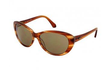 Kenneth Cole New York KC7055 Sunglasses - Brown Horn Frame Color