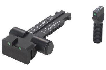 kensight ak variant rifle sight set trijicon tritium insert ak 47