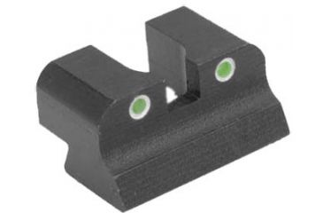 Kensight Government Model Sight Trijicon Tritium Insert - Night Sights, Black 860-202