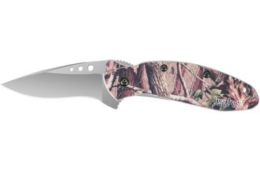 Kershaw Knives Scallion Knife, Realtree Camo, Clam Pack 112606