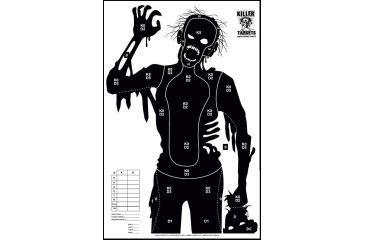 Killer Targets Patient Zero Zombie Target - Pack of 10
