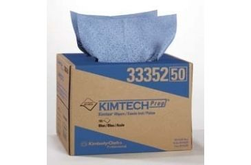 Kimberly Clark KIMTECH PREP Kimtex Wipers, Kimberly-Clark Professional 33352-50