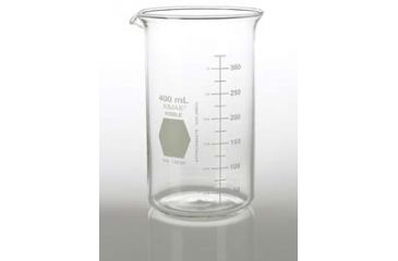 Kimble/Kontes KIMAX Brand Berzelius Beakers, Tall Form, Graduated, Borosilicate Glass 14030 200 With Pouring Spout