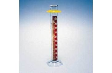Kimble/Kontes KIMAX Brand Single Metric Scale Graduated Cylinders, Class B, with Red Stripe 20024D 2000