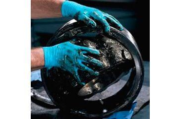 Kleenguard G10 Blue Nitrile Gloves, Blue, Medium 57372