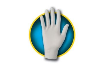 Kleenguard G10 Grey Nitrile Gloves, Grey, Small 97821