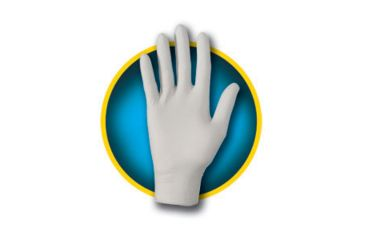 Kleenguard G10 Grey Nitrile Gloves, Grey, Medium 97822