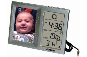 Konus Fototempo Digital Thermo-Hygro Barometer Photo Holder 6172