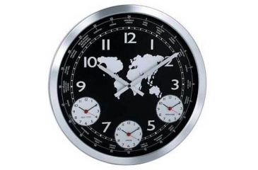 Konus Terrano Wall Clock With Metal Body