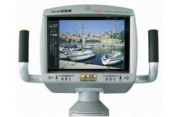Kowa Vista View LCD Coin Operated Binoculars monitor view