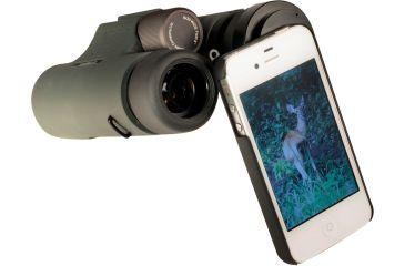 Kowa Photo Adapter for iPhone 4 / iPhone 4S, Black TSN-IP4S