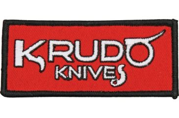 Krudo Advertisement Embroidered Patch, 3 5/8in. SNGP