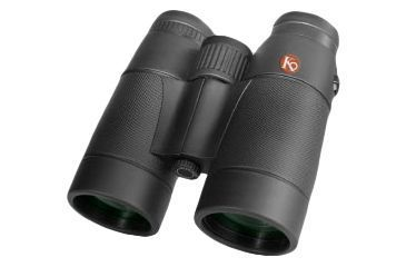 Kruger Optical BackCountry 10x42 Roof Prism Binoculars, Black 61313