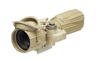 L-3 Infrared Products AN/PVS-24 M2124 Clip-On Night Vision Device, Gen 3 Auto Gated, Taupe 000623