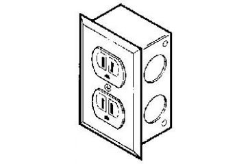 Labconco Electrical Receptacle Kits for Protector Laboratory Hoods, Labconco 9854200 Duplex Receptacle
