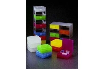 Labnet Pack Of 5 Storage Boxes, One Of Each Color Above R8300-A