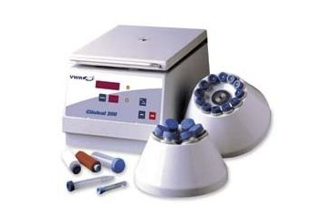 VWR Clinical 200 Large Capacity Centrifuge C0232-9B-VWR Adapters For Fixed-Angle Rotor 82013-822 For 5 Ml (12 x 75 mm) To 7 Ml (13 x 100 mm) Tubes