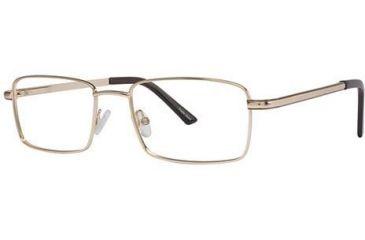 LAmy C By L'Amy 103 Eyeglass Frames - Frame Gold, Size 54/18mm CYCBL10301