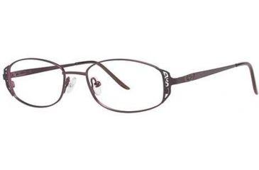 LAmy C by L'Amy 505 Eyeglass Frames - Frame Eggplant, Size 49/16mm CYCBL50501