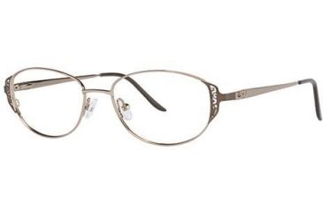 LAmy C by L'Amy 506 Progressive Prescription Eyeglasses - Frame Brown, Size 51/16mm CYCBL50603