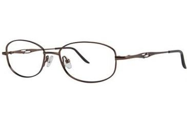 LAmy C by L'Amy 508 Single Vision Prescription Eyeglasses - Frame Brown, Size 50/16mm CYCBL50803