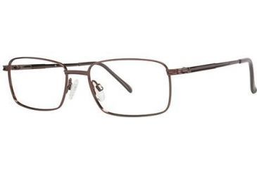 LAmy C by L'Amy 600 Eyeglass Frames - Frame Brown, Size 55/18mm CYCBL60003
