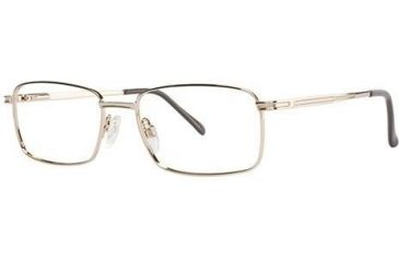 LAmy C by L'Amy 600 Single Vision Prescription Eyeglasses - Frame Gold, Size 55/18mm CYCBL60002