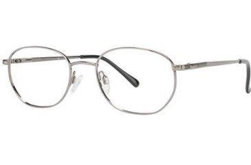 LAmy C by L'Amy 601 Single Vision Prescription Eyeglasses - Frame Gunmetal, Size 50/19mm CYCBL60101