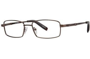 LAmy C by L'Amy 603 Eyeglass Frames - Frame Brown, Size 53/17mm CYCBL60302