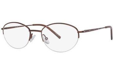 LAmy C By L'Amy 804 Bifocal Prescription Eyeglasses - Frame Brown, Size 50/19mm CYCBL80402