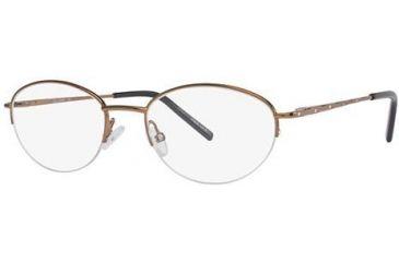 LAmy C By L'Amy 804 Bifocal Prescription Eyeglasses - Frame Light Copper, Size 50/19mm CYCBL80401