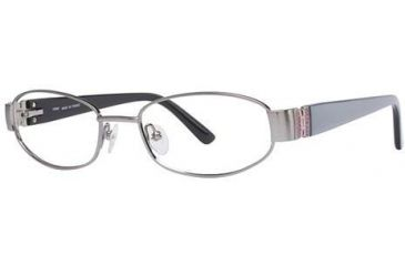 LAmy Claudia Bifocal Prescription Eyeglasses - Frame Shiny Blue, Size 49/17mm LYCLAUDIA01