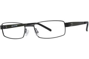 LAmy Dasko 1015 Eyeglass Frames - Frame Black/Olive, Size 55/18mm LYDASKO101504