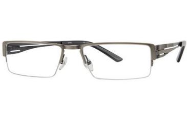 LAmy Dillon Bifocal Prescription Eyeglasses - Frame Antique Pewter, Size 54/17mm LYDILLON01