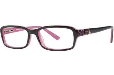 LAmy Emma Single Vision Prescription Eyeglasses - Frame Dark Grey/ Pink, Size 53/16mm LYEMMA06