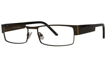 LAmy Jacques Bifocal Prescription Eyeglasses - Frame Brown Tortoise, Size 55/17mm LYJACQUES02