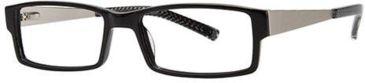 LAmy Julian Bifocal Prescription Eyeglasses - Frame Black, Size 55/17mm LYJULIAN03