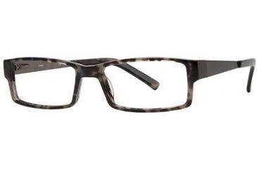 LAmy Julian Bifocal Prescription Eyeglasses - Frame Grey Tortoise, Size 55/17mm LYJULIAN02