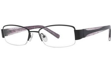 LAmy Justine Bifocal Prescription Eyeglasses - Frame Black/Black/Pink, Size 50/17mm LYJUSTINE01